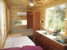 Four Lights Tiny House Sleep Without Climbing In This Loft Less Tiny House Youtube