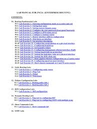 lab manual for jncia ip address internet