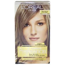 Hair Care Loreal Loreal Preference Hair Color 7a Dark Ash Blond Of