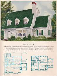 Historic Colonial House Plans Erlin House Plan Vintage American Architecture 1929 Home