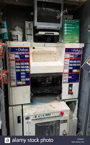 computerised dulux paint mixing machine at homebase diy store uk
