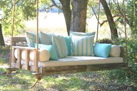 wooden porch swings porch farmhouse with bed swing day bed that