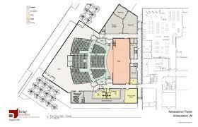 Floor Plan Of Auditorium Ashwaubenon School District Community Auditorium