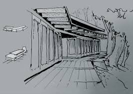 modern concept architectural building sketches and sketches of