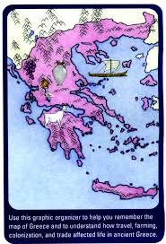 Map Of Ancient Greece by Geography Of Ancient Greece Ancient Greece 6th Grade Tms