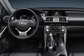 lexus sport car interior all new 2014 lexus is sports car photos and details