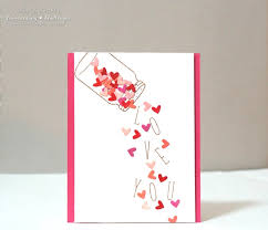 valentines cards 25 easy diy s day cards