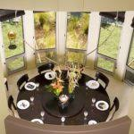 table spinning center starrkingschool dining table with rotating center monotheist info