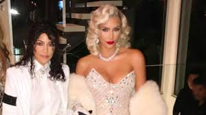 watch kim and kourtney kardashian nail their amazing madonna and