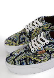 vans authentic paisley dress blues shoes impericon