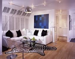 Zebra Floor L Living Room Modern Living Room Decor Sofa White L Shaped Rugs