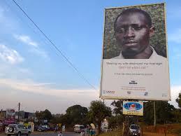 Dsc 0414 Jpg File True Manhood Anti Domestic Violence Sign Outside Entebbe