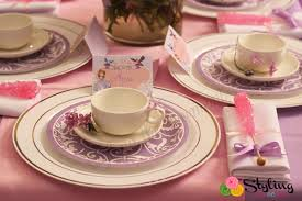 sofia the first royal tea party styling the moment