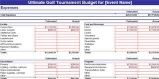 Golf Tournament Sign Up Sheet Template Golf Tournament Planning Dojiggy