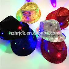 light up fedora caps light blue fedora hat pork pie hat