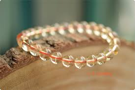 yellow quartz bracelet images High quality natural citrine round beads bracelets yellow crystal JPG