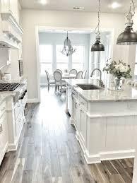 White And Grey Kitchen Ideas Best Kitchen Floors Home Design
