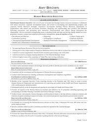 Executive Recruiter Resume Sample Hr Sample Resume Sample Resume For An Hr Manager 1 Senior Hr