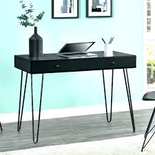 Small Black Writing Desk Black Writing Desk Kresofineart