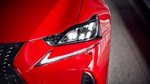 red lexus prabangus sportinis sedanas lexus is lexus lietuva