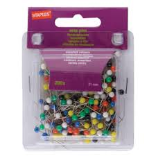 Map Tacks Staples Map Pins Size 21 Pack 200 Package 200 Each Staples
