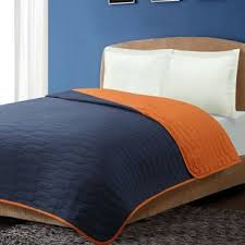 twin navy quilt wayfair