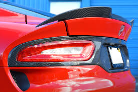 dodge viper 2016 dodge viper gen 5 tail light surround panel ss vette