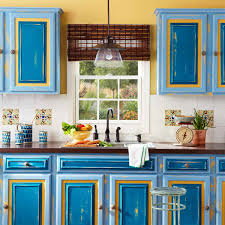 Kitchen Cabinet Door Ideas Blue Making Kitchen Cabinet Door