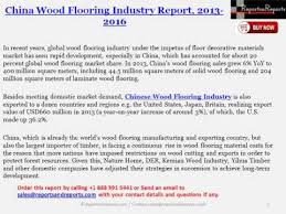 overview of china wood flooring market status competition pattern