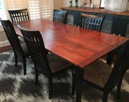 maple dining room table maple dining table etsy