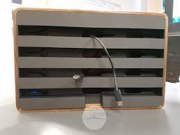 alldock walnut u0026 black charging station review droidhorizon