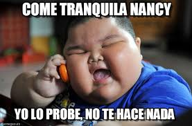 Nancy Meme - come tranquila nancy asian fat kid meme on memegen