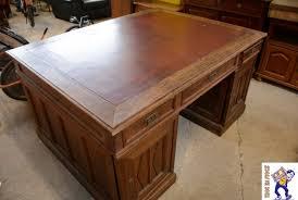 bureau ancien ancien bureau chêne troc en stock