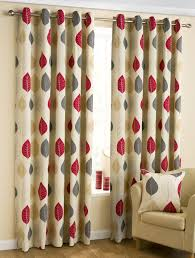 Terracotta Curtains Ready Made by Leaves Ready Made Eyelet Curtains Homemade Pinterest