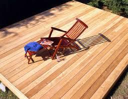 plastics rare woods are replacing cedar decks news ok