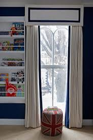 White Curtains With Blue Trim White Curtains With Navy Trim Navy White Curtains Large Size Of
