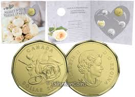 wedding gift amount canada canada 2017 wedding 5 coin uncirculated mint gift set with special