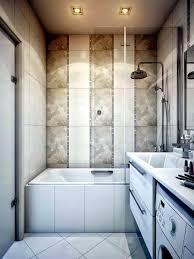 Modern Bathroom Tub Modern Built In Bath Tub With Space Saving Design Interior