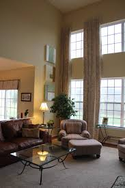 Family Room Drapery Ideas 2 Story Curtains What Not To Do Match Wall To Curtains Images Of
