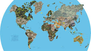 Artistic World Map by This Map Shows Every Country U0027s Military Camouflage Pattern