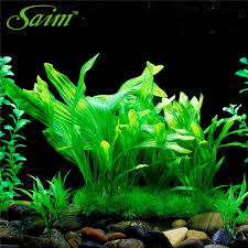 Saim Artificial Green Underwater Plant Fish Tank Aquarium Decor