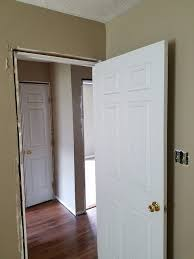can you use an existing door for a barn door can i hang a new door in an existing frame express doors