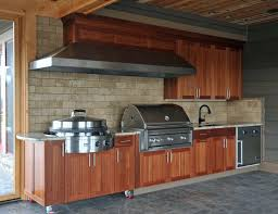 rustic ceiling ideas outdoor barbeque designs rustic blue kitchen