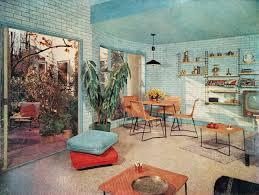 60s Decor Midcentury Modern Retro Vintage 50s 60s Interior Design Decor