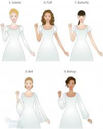 types of wedding dress styles modest wedding dresses sleeve types and lengths lds wedding planner