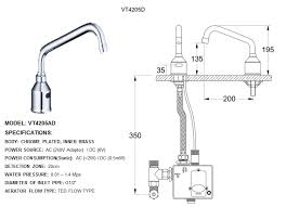 Automatic Water Faucet Valtech Touchless Sensor Automatic Solution