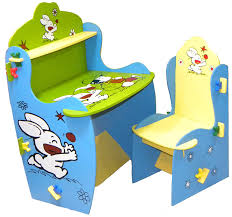 kids furniture table and chairs wood o plast knock down kids study table chair set amazon in baby