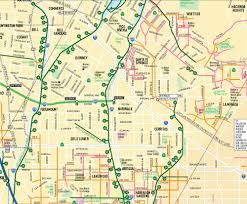 los angeles map pdf la metro bike map pats 605 cyclery