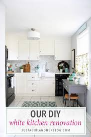 ikea kitchen cabinets and countertops our diy white kitchen renovation the reveal abby lawson