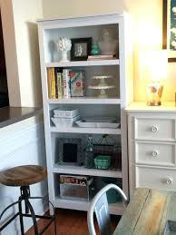 Sauder Harbor View Bookcase by Premade Built In Bookshelves American Hwy Best Shower Collection